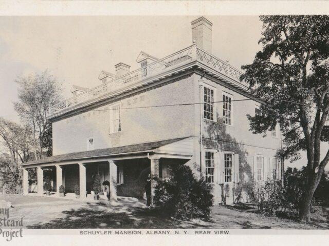 Schuyler Mansion, Rear View
