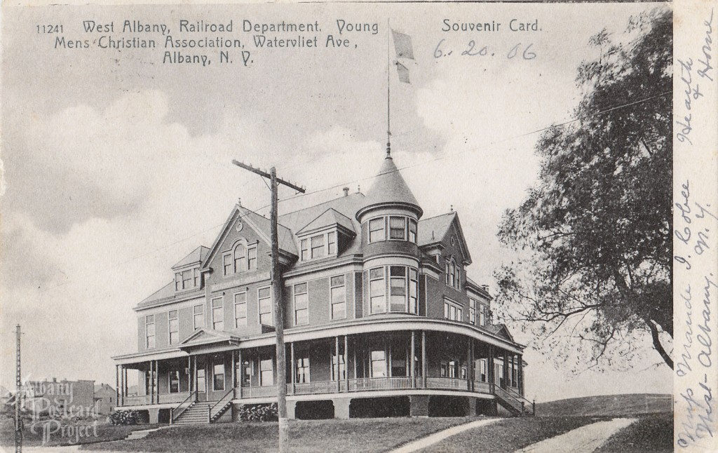 West Albany, Railroad Department Young Mens Christian Association, Watervliet Ave