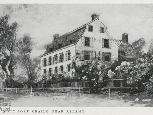 Historic Fort Crailo Near Albany