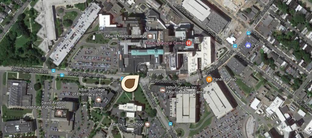 Map Albany City Hospital 03