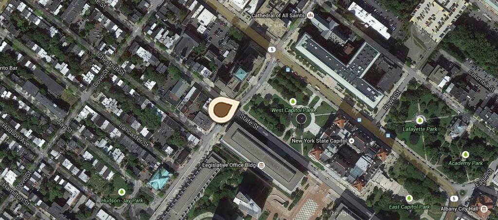 Map Congress Street Sunday School