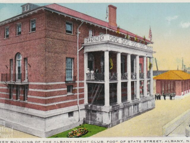 New Building of the Albany Yacht Club, Foot of State Street