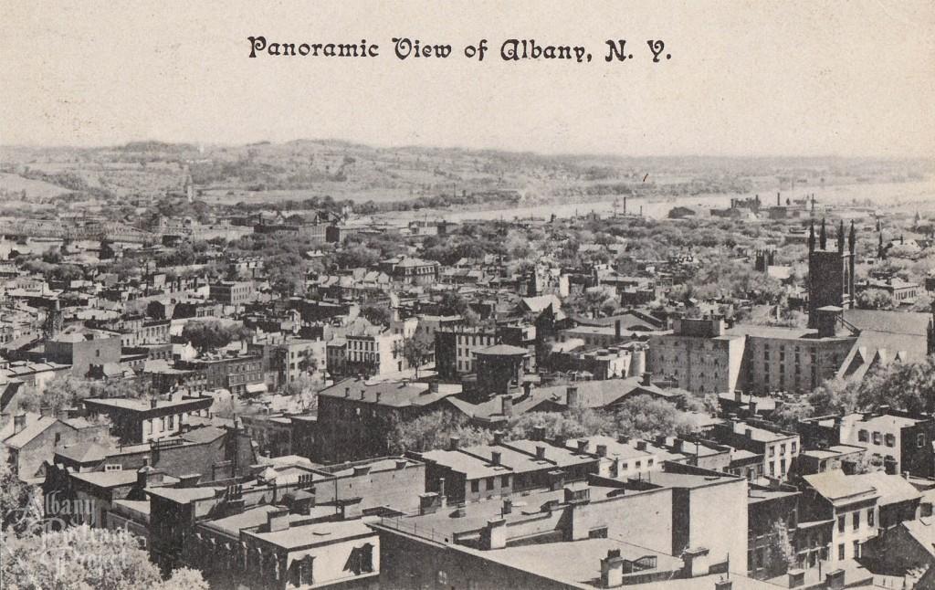 Panoramic View of Albany