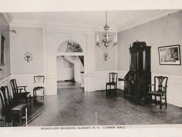Schuyler Mansion, Lower Hall
